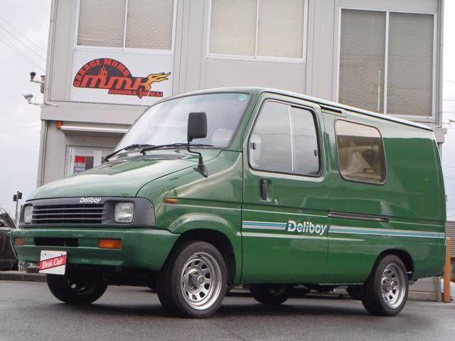 トヨタ デリボーイ 社外ウッドハンドル ホイール