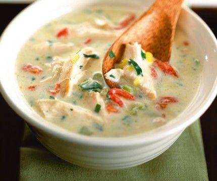 soupe poulet Lignac