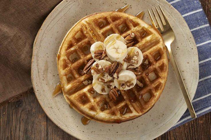 Belgian-Style Yeast Waffles Recipe