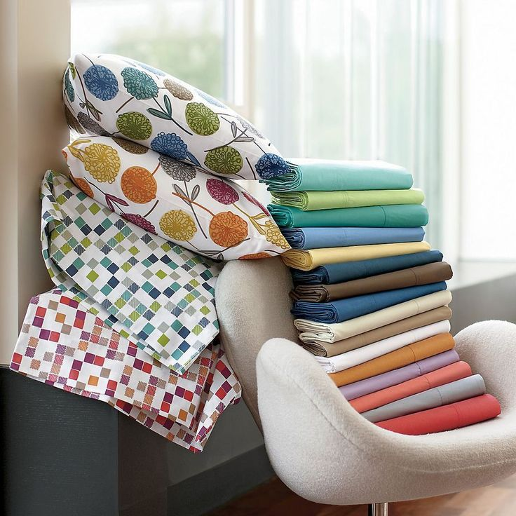 4 PIECE BED SHEET SET SOLID 100% EGYPTIAN COTTON - 21 COLORS AND ALL SIZES! #Scala #Contemporary
