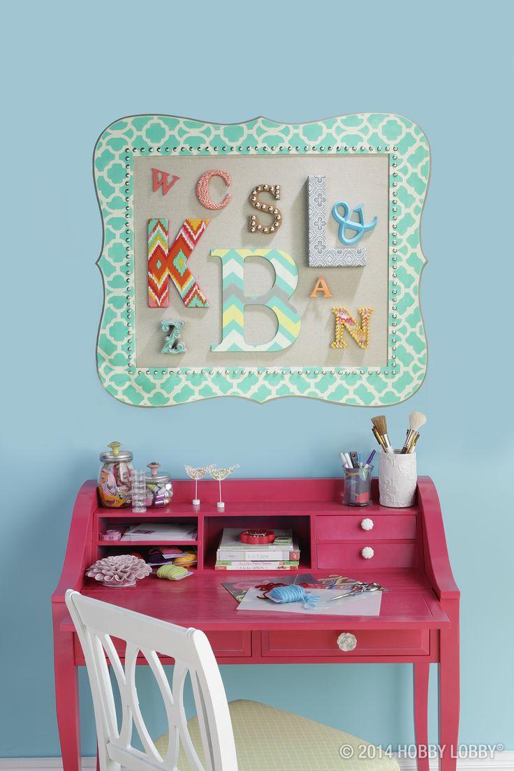 137 best images about girls 39 bedroom decor on pinterest for Room decor hobby lobby
