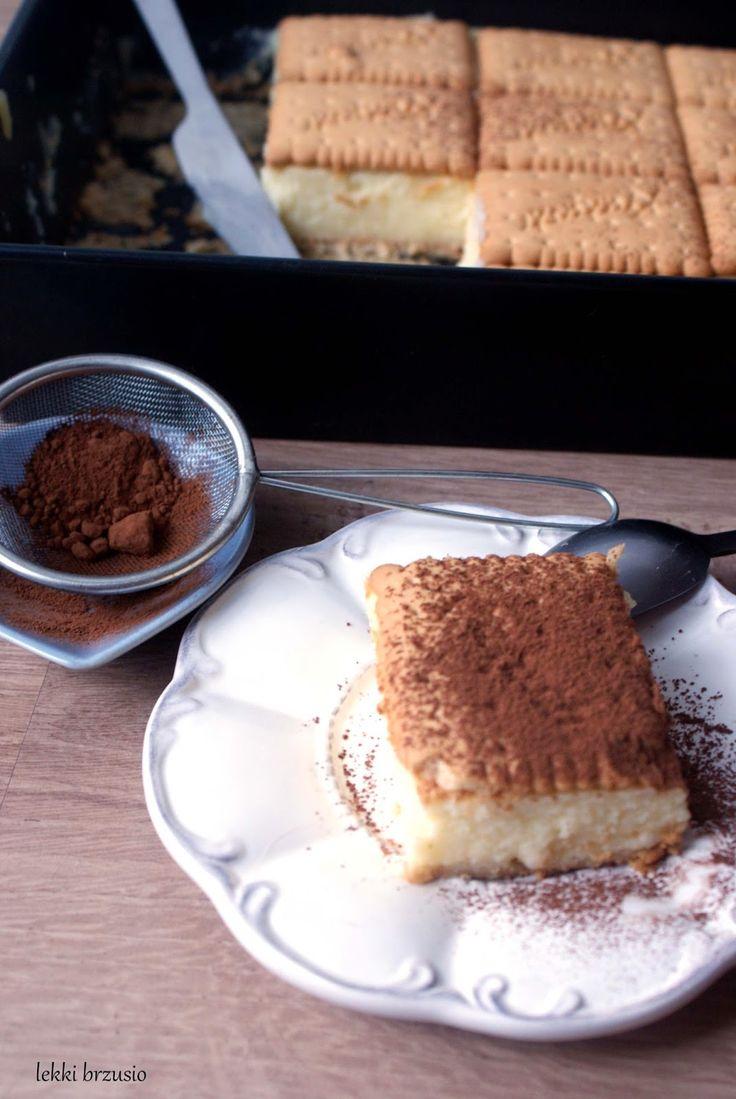 Ciasto z kaszy manny i herbatników  (bez pieczenia)