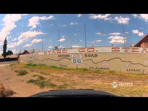 Route 66, Time-Lapse Video From Chicago to LA in 3 Minutes