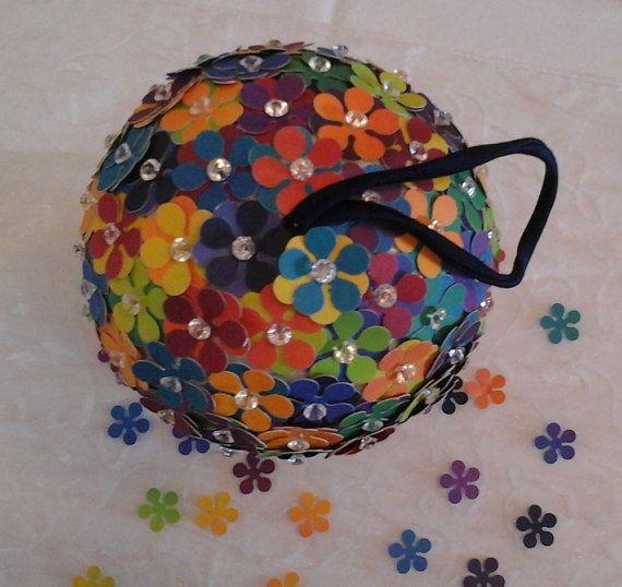 Decor: il pomander multicolor un arcobaleno di di Danipaperwedding