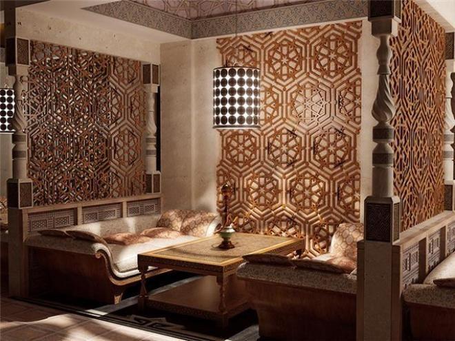 Arabesque decor