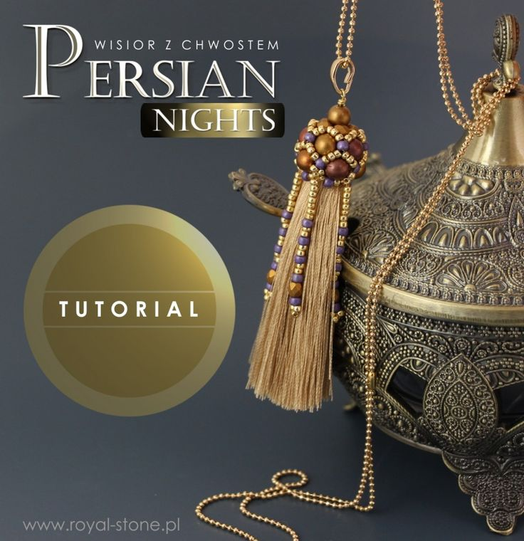 Persian Nights – Chwost z koralikową czapeczką – tutorial | Royal-Stone blog
