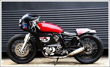 左横写真 Cafe Racer #motorcycles #caferacer #motos | caferacerpasion.com