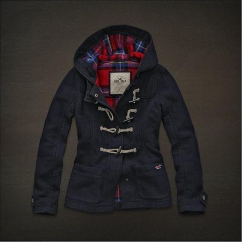 СЗТ-Холлистер-на-Abercrombie шерсть-тумблер Мех-толстовка с капюшоном Куртка-жилет-Coat-SZ-XS-SM