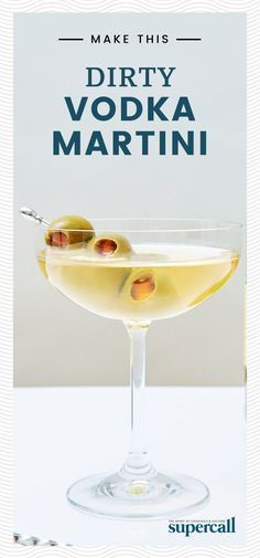 Though a traditional Dirty Martini is made with gin, vodka may actually be the more historically accurate base spirit. Without any of gin's juniper-heavy flavors, the Dirty Vodka Martini is all about that salty, funky brine.