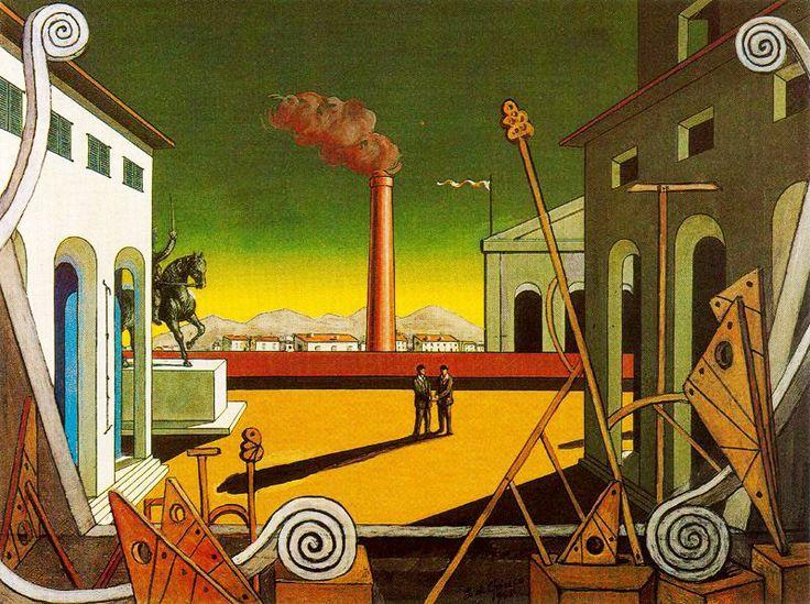 GIORGIO DE CHIRICO. El gran juego. 1971.