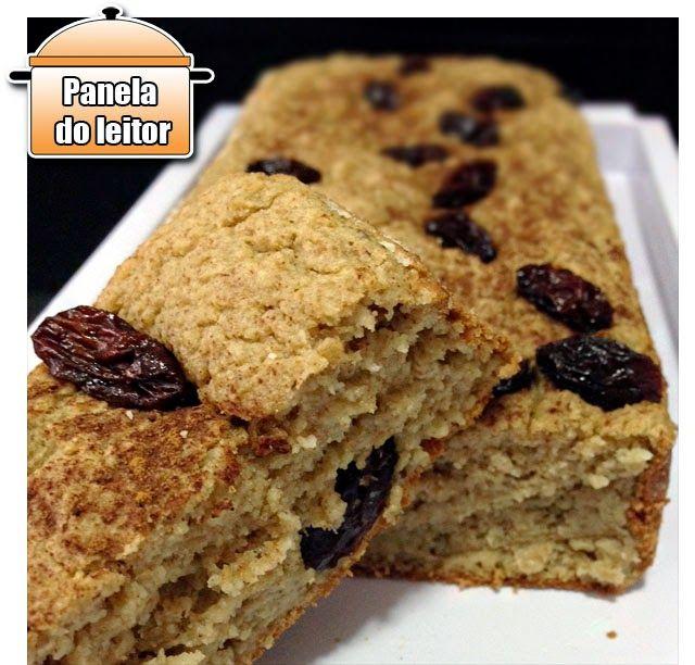 PANELATERAPIA - Blog de Culinária, Gastronomia e Receitas: Panela do Leitor: Bolo Diet de Maçã