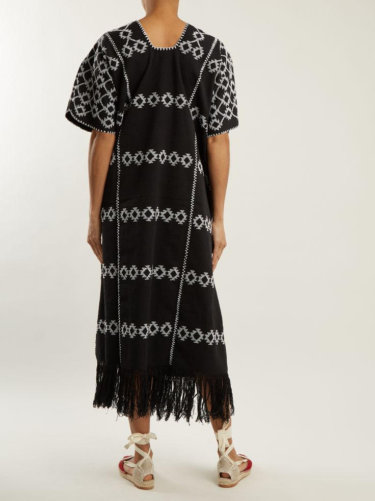 Click here to buy Pippa Holt No.60 embroidered cotton kaftan at MATCHESFASHION.COM