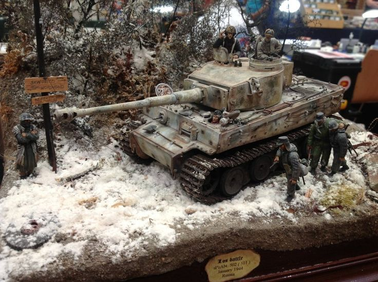 TRACK-LINK / Gallery / Modellbau Club Camouflages Modeling Event 2013 - Tiger