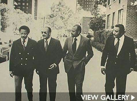 David Dinkins, Basil Patterson, Percy Sutton and Charles Rangel