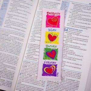 love #joy #happiness #bookmark