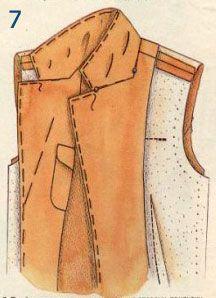 Lapel collar / Воротник с лацканами