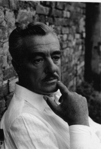 Vittorio De Sica, a great Italian movie director who worked a lot with Sophia Loren and Marcello Mastroianni.