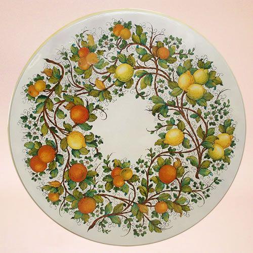 Tavoli in ceramica da giardino   Ceramiche Leoncini