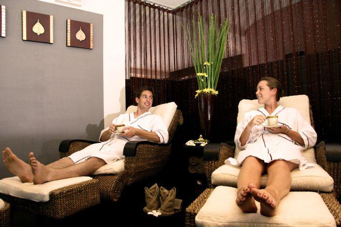 5) Take a spa day.