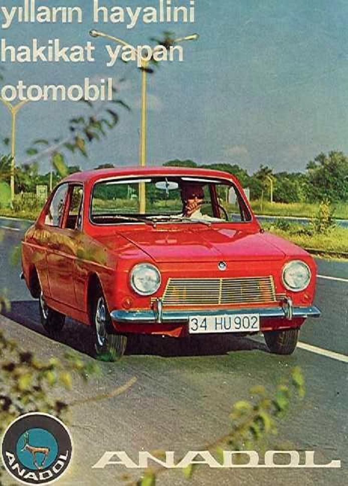 Anadol A1 mk1 - from Turkey