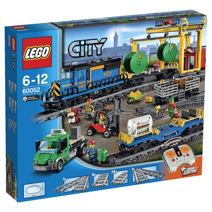 Lego City Trains 60052 - Treno Merci: Amazon.it: Giochi e giocattoli