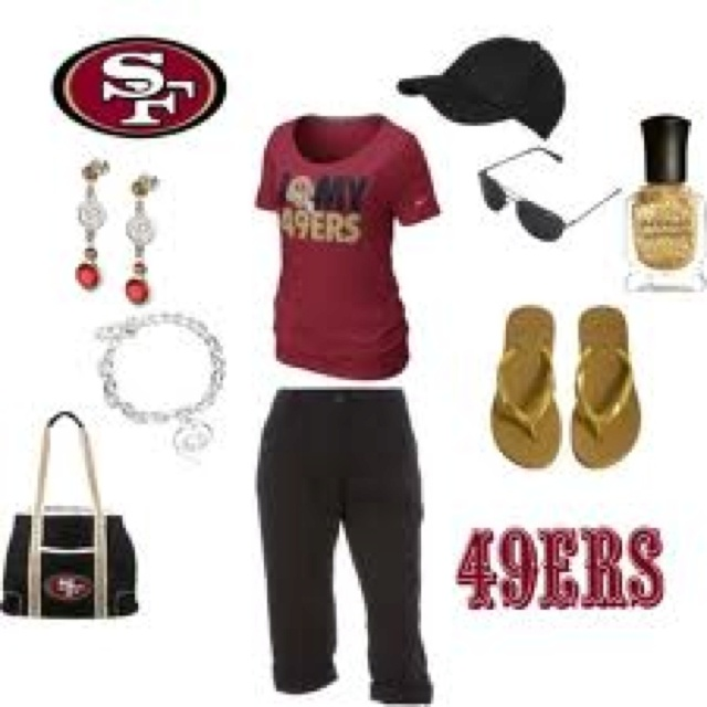 Outfit for the 49er game???