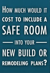 Safe Room....Collin and I are considering this for our home! I think it's something everyone should consider, regardless of where you live. The recent storms are proof!