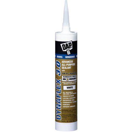 Dap 18360 White DAP Dynaflex 3.0 All Purpose Sealant, Multicolor