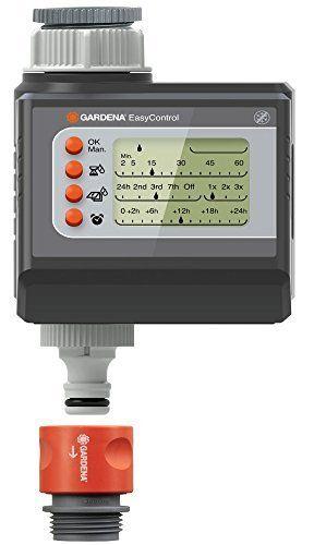 Gardena 01881-20 EasyControl Programmateur d'arrosage Gris/Orange Plastique 20 x 20 x 15 cm: Price:38.95Le programmateur d'arrosage…