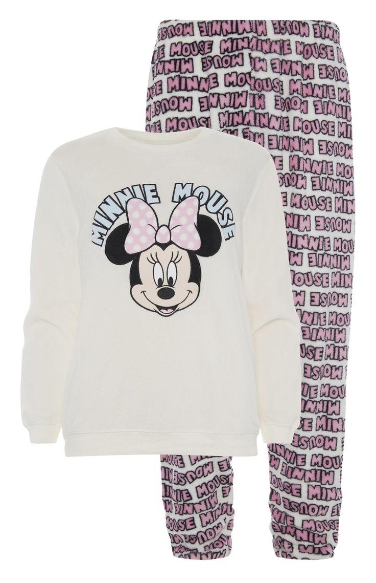 Primark - Minnie Mouse Sherpa PJ Set