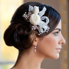 Blooms and Ribbons Headpiece from Glitzy Secrets