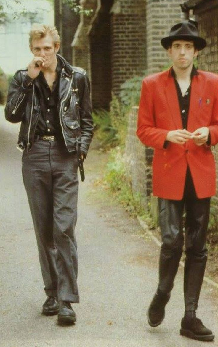 paul simonon & mick jones