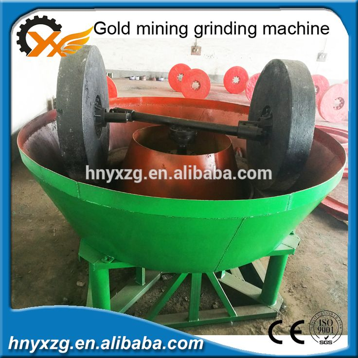 Process gold ore floating round grinding machine made in China