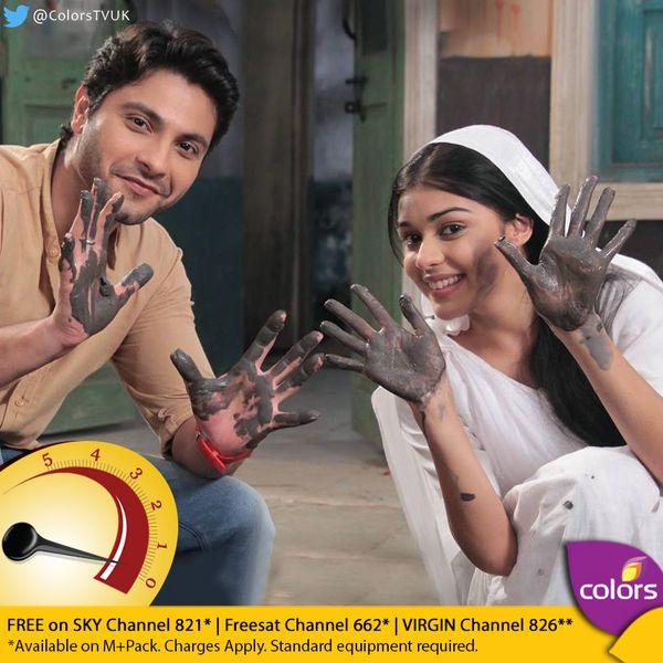 Eisha Singh and Mishal Raheja aka Viplav and Dhani – Ishq Ka Rang Safed .