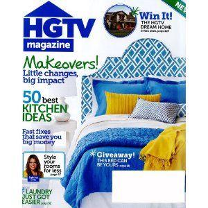 hgtv-magazine: Idea, Hearst Magazines, Book Worth, Book Magazines, Bright Color, Magazines Subscription, Magazines 1Year, Hgtv Magazines Fun Book, Magazines 1 Years