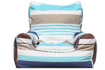 Blue bell stripe chair.  Save $18 now just $102.
