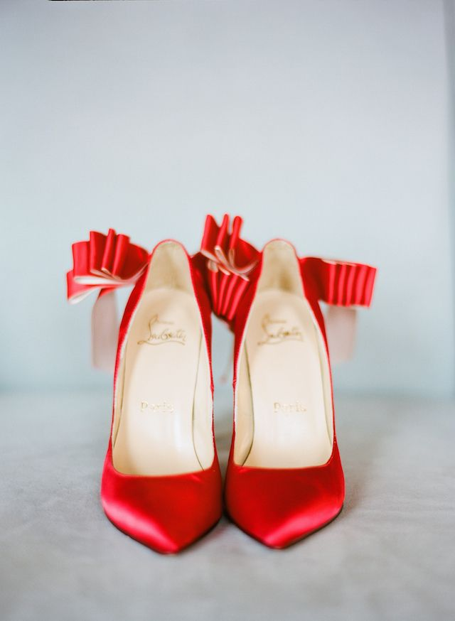 Red Louboutin shoes | Nadia Hung Photography | see more on: http://burnettsboards.com/2014/04/fine-art-boudoir-shoot/