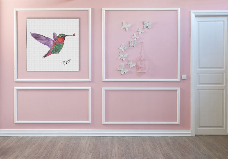 A kissing Hummingbird can change a room.  Explore Gogimogi's Wall Art Gallery for ideas and inspiration.  Gogimogi, The Artistically Geeky Design House.