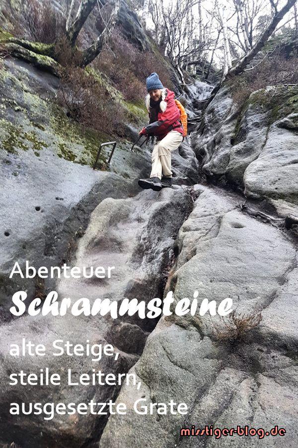 Schrammsteine Spannende Runde Uber Steile Leitern Und Grate Miss Tiger Elbsandsteingebirge Urlaub Sachsische Schweiz Ausflugsziele
