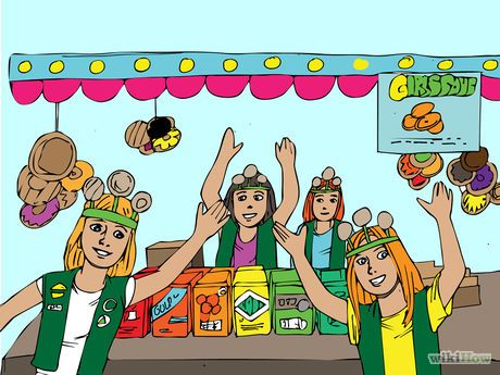 Image titled Organize a Girl Scout Cookie Booth Sale Step 14