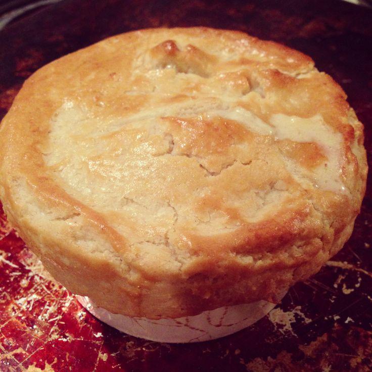 Chicken pot pie!!! Ñam ñam!