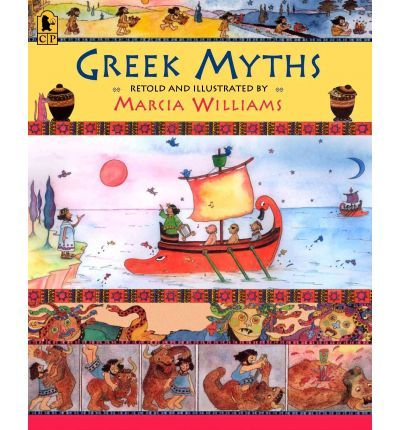 Greek myths are among the most exciting stories ever told. In this collection, Williams retells eight myths using simple language and a unique comic-strip format. Panels and spreads brimming with color and nonstop action make each tale a pleasure to look at and voice balloons add modern humor. The perfect way to introduce young readers to the power of myths.