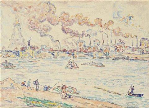 """Résultat de recherche d'images pour """"Paul Signac (1863-1935) Pont de grenelle"""""""