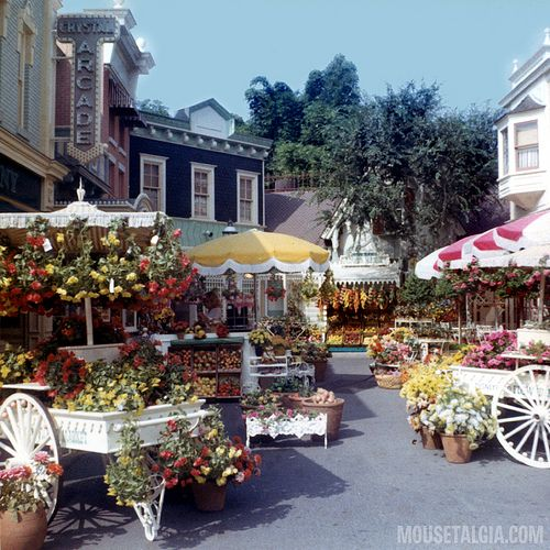 I remember when it looked like this. Flower Market, Main Street