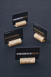 vinoresca weinaccessoires - shop | tischkartenhalter k | tischkartenhalter