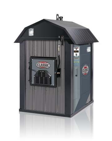 A Wood Burning Outdoor Furnace 90 Efficient