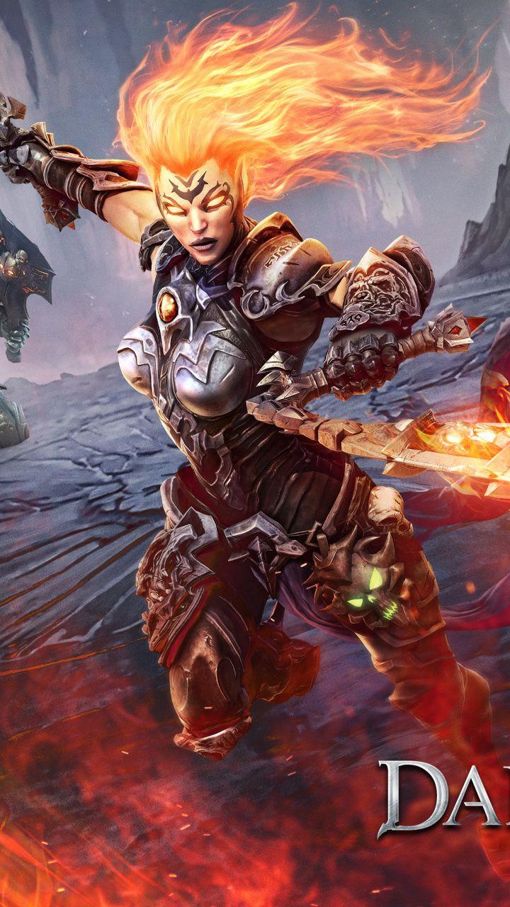 Darksiders III, Video game, warrior, 2018, 720x1280