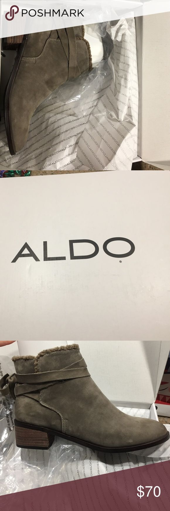 Aldo Boots. Brand new in box. Brand new Aldo boots. Size 8. They have never been worn. Still in wrapping in box. Aldo Shoes Ankle Boots & Booties