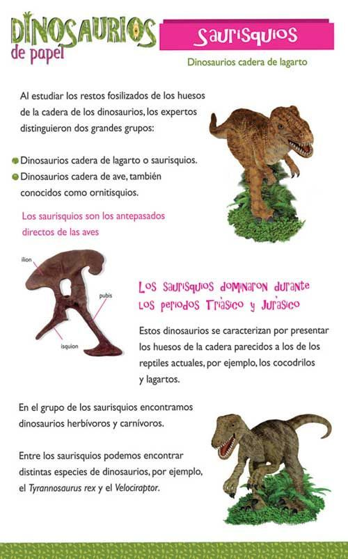 TIPOS DE DINOSAURIOS