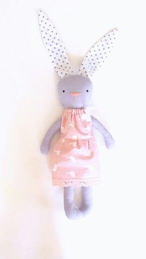 Banny Pink  http://vk.com/evawithlovetoys  #banny #bannytoy #animaltoys #toy
